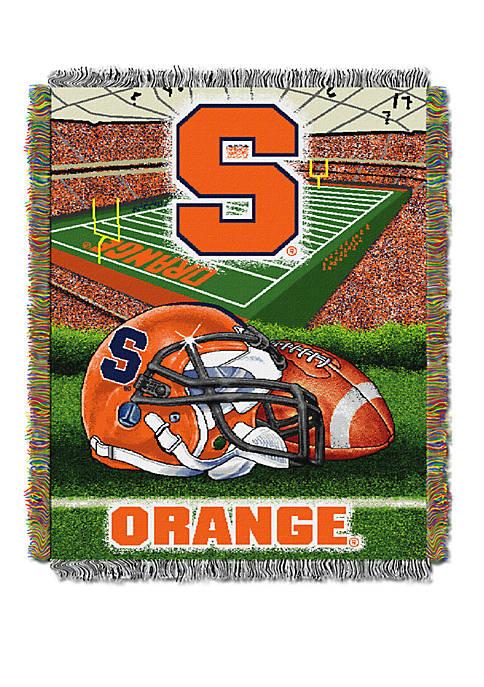 Syracuse Orange Home Court Rug Syracuse Orange Lane Color: Blue