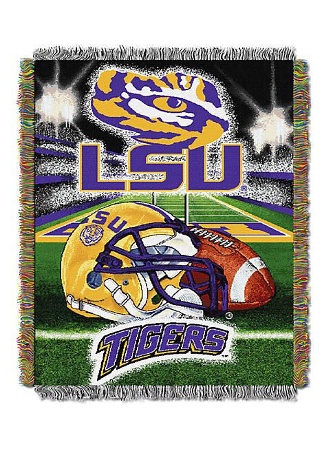 NCAA LSU Tigers Home Field Advantage Tapestry Blanket