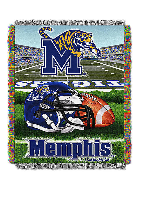 NCAA Memphis Tigers Home Field Advantage Tapestry Blanket