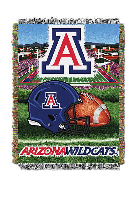 NCAA Arizona Wildcats Home Field Advantage Tapestry Blanket