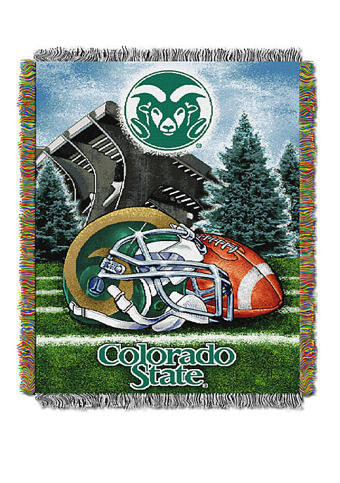 NCAA Colorado State Rams Home Field Advantage Tapestry Blanket
