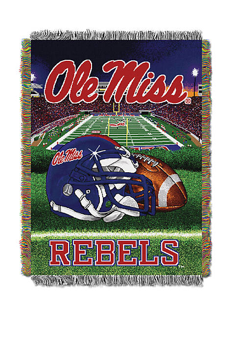 NCAA Ole Miss Rebels Home Field Advantage Tapestry