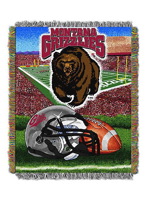 NCAA Montana Grizzlies Home Field Advantage Tapestry