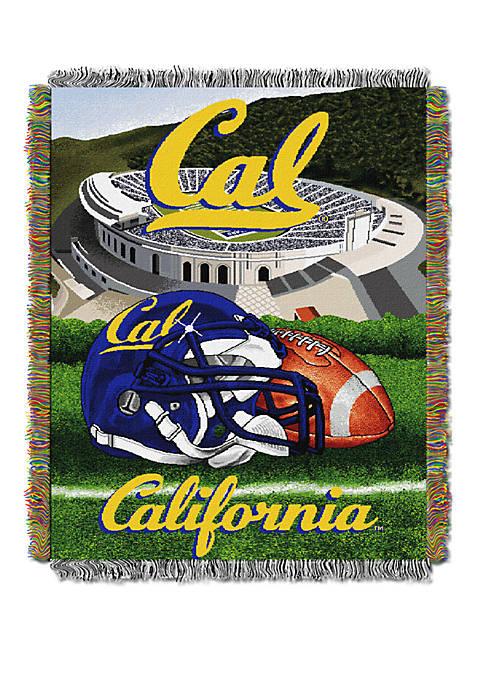 NCAA UC Berkeley Golden Bears Home Field Advantage Tapestry