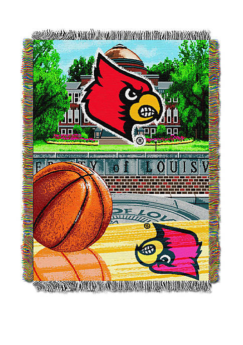 NCAA Louisville Cardinals Home Field Advantage Tapestry
