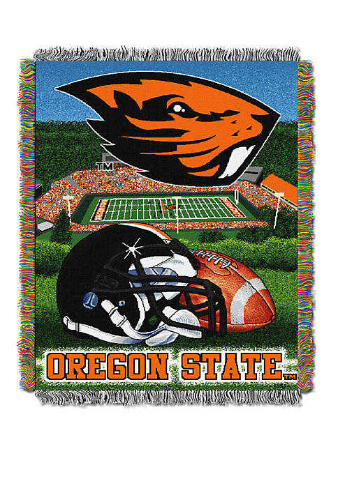 NCAA Oregon State Beavers Home Field Advantage Tapestry Blanket