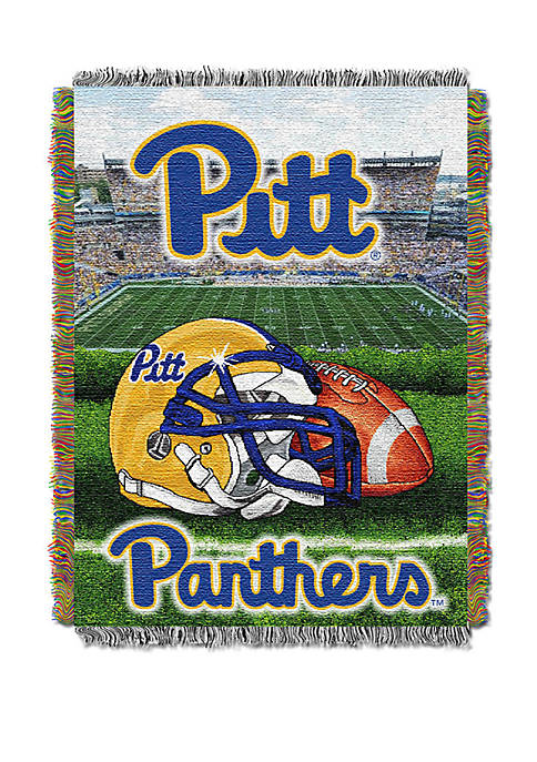 NCAA Pittsburgh Panthers Home Field Advantage Tapestry Blanket