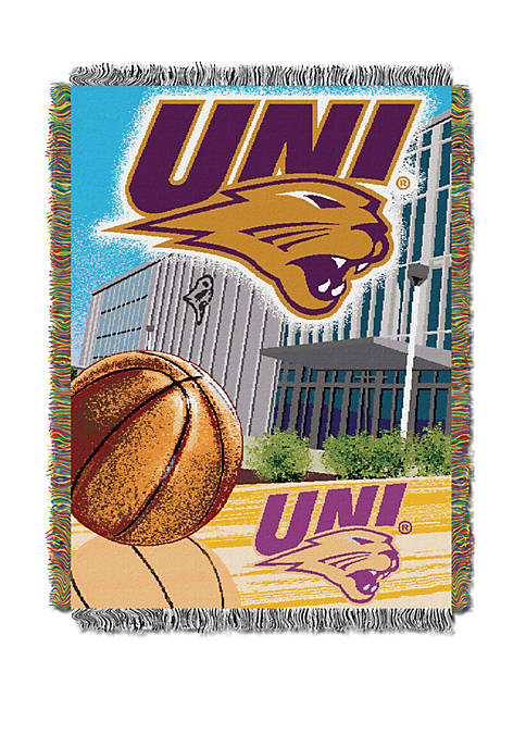 NCAA Northern Iowa Panthers Home Field Advantage Tapestry Blanket