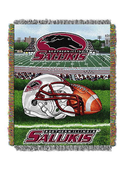 NCAA Southern Illinois Salukis Home Field Advantage Tapestry Blanket