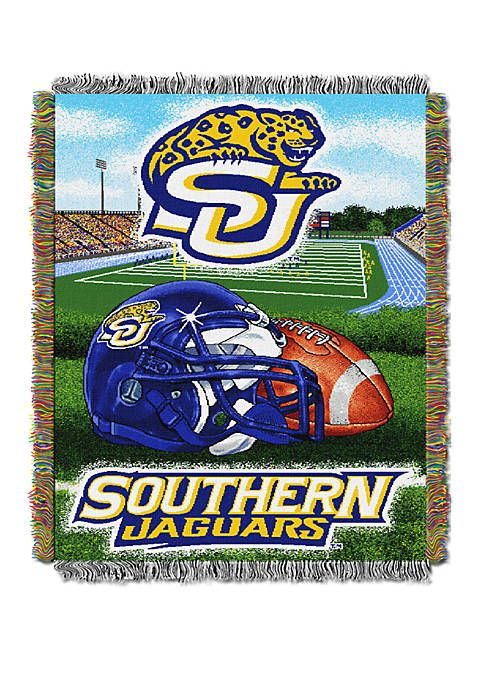NCAA Southern Jaguars Home Field Advantage Tapestry Blanket