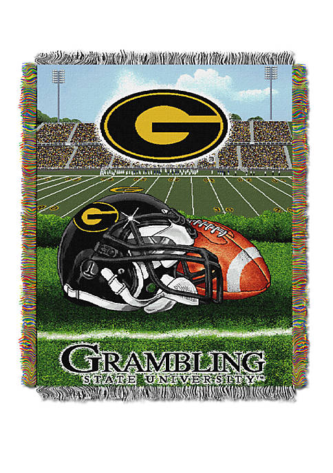 NCAA Grambling State Tigers Home Field Advantage Tapestry Blanket