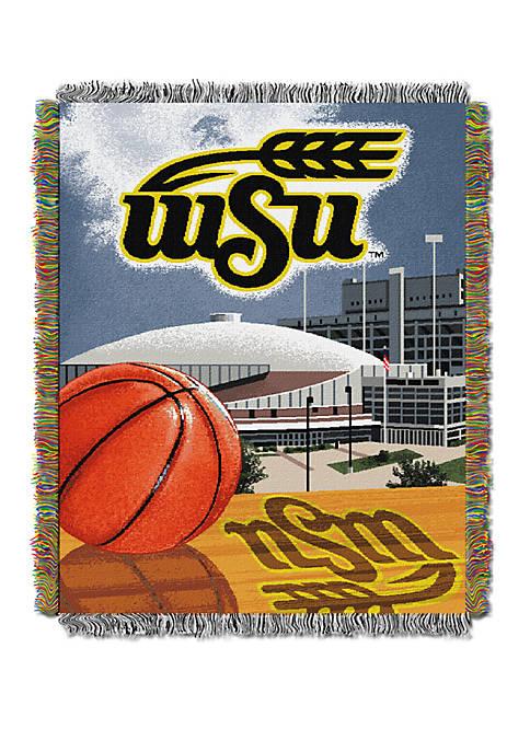 NCAA Wichita State Shockers Home Field Advantage Tapestry