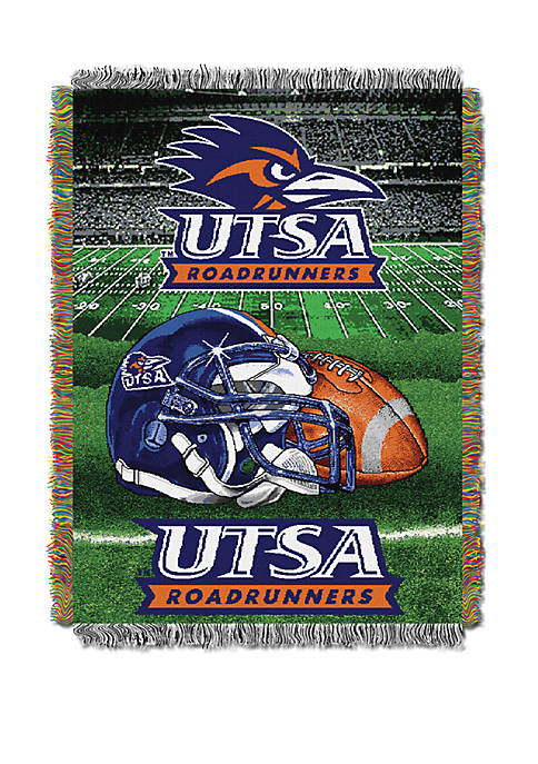 NCAA Texas San Antonio Roadrunners Home Field Advantage Tapestry