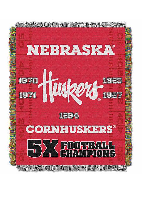 NCAA Nebraska Cornhuskers Commemorative Series Tapestry
