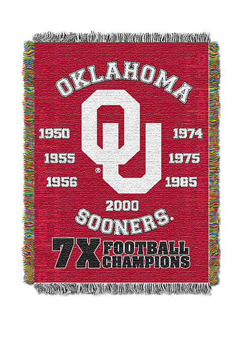 NCAA Oklahoma Sooners Commemorative Series Tapestry