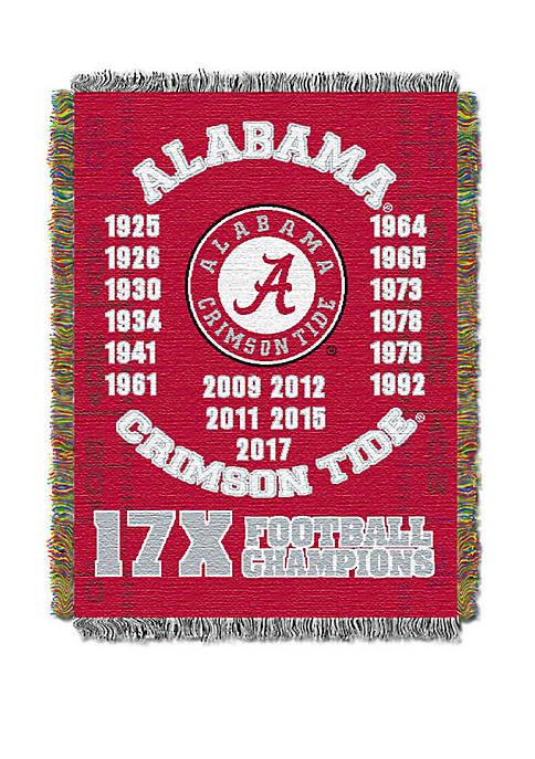 NCAA Alabama Crimson Tide Commemorative Series Tapestry