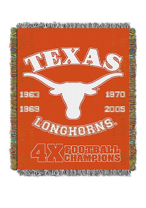 NCAA Texas Longhorns Commemorative Series Tapestry