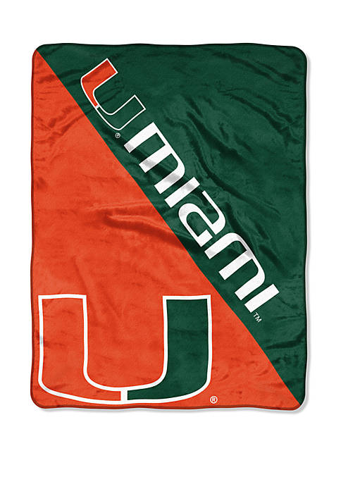 The Northwest Company NCAA Miami Hurricanes Halftone Micro