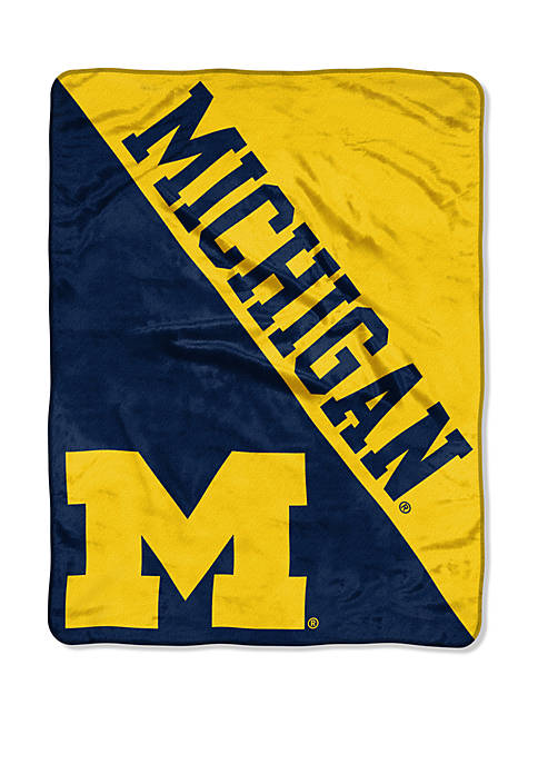 The Northwest Company NCAA Michigan Wolverines Halftone Micro