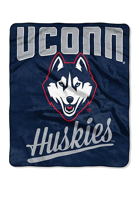 NCAA UConn Huskies Alumni Raschel Throw