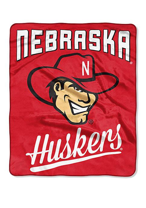 NCAA Nebraska Cornhuskers Alumni Raschel Throw