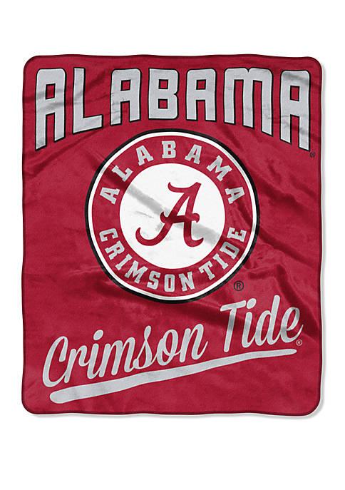 NCAA Alabama Crimson Tide Alumni Raschel Throw