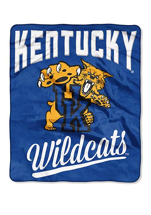 NCAA Kentucky Wildcats Alumni Raschel Throw