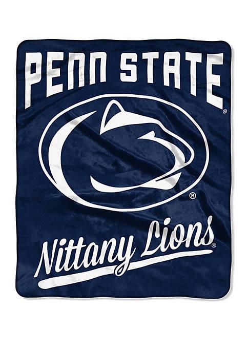NCAA Penn State Nittany Lions Alumni Raschel Throw