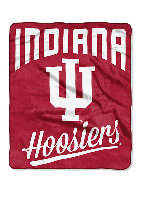NCAA Indiana Hoosiers Alumni Raschel Throw