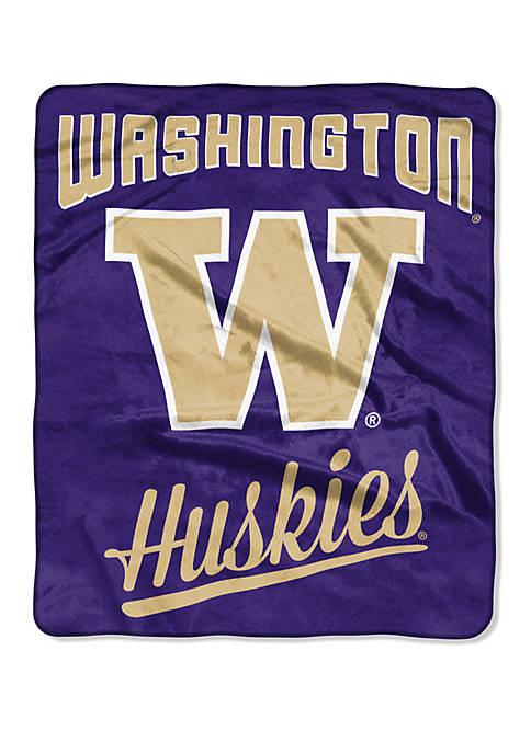 NCAA Washington Huskies Alumni Raschel Throw