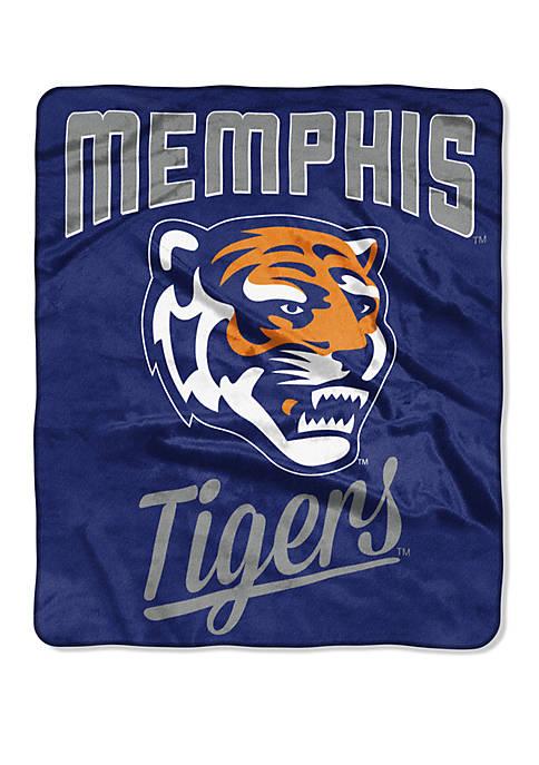 NCAA Memphis Tigers Alumni Raschel Throw