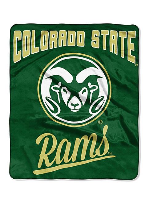 NCAA Colorado Rams State Alumni Raschel Throw