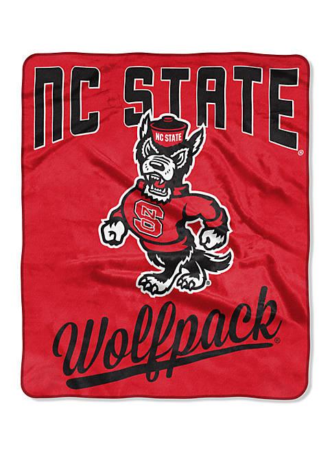 NCAA NC State Wolfpack Alumni Raschel Throw