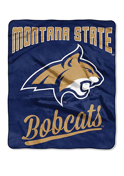 NCAA Montana State Bobcats Alumni Raschel Throw