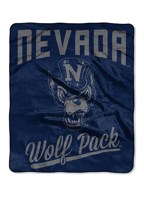 NCAA Nevada Reno Alumni Raschel Throw