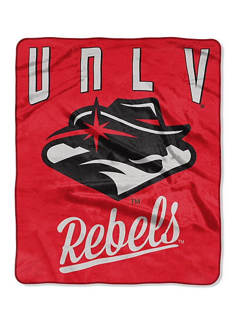 NCAA UNLV Rebels Alumni Raschel Throw