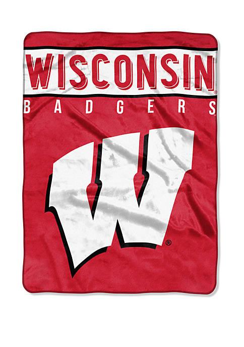 The Northwest Company NCAA Wisconsin Badgers Basic Raschel