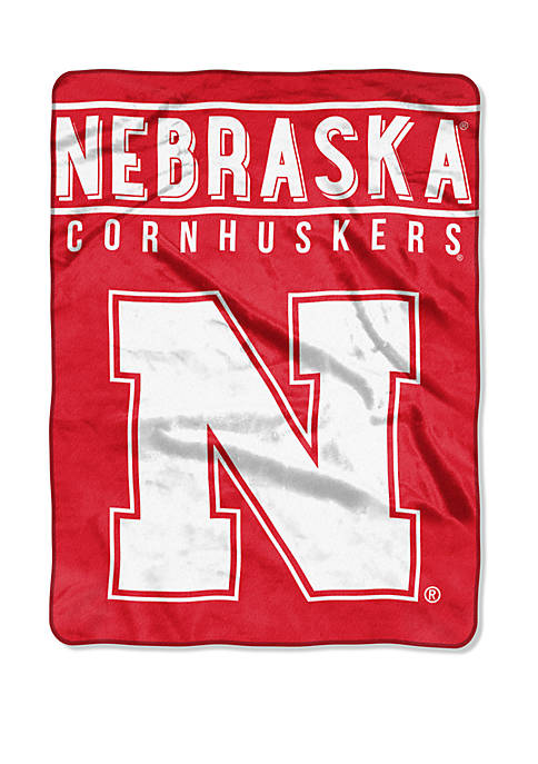 The Northwest Company NCAA Nebraska Cornhuskers Basic Raschel