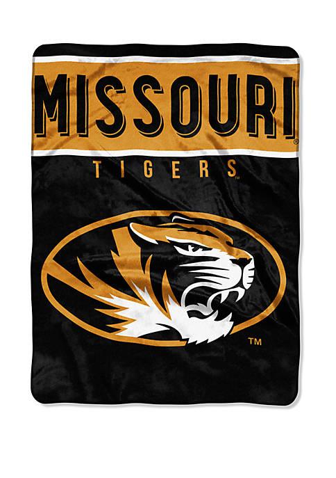 NCAA Missouri Tigers Basic Raschel Throw