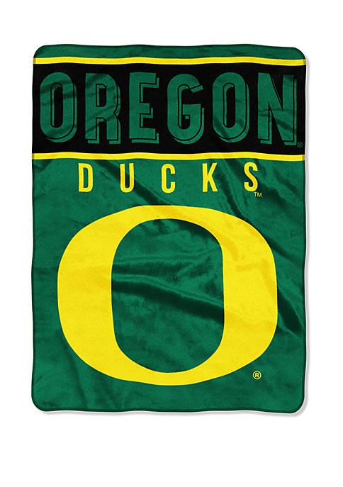 NCAA Oregon Ducks Basic Raschel Throw