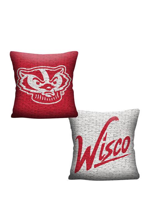 The Northwest Company NCAA Wisconsin Badgers Invert Pillow