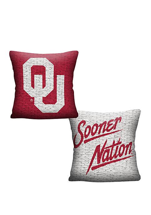 NCAA Oklahoma Sooners Invert Pillow