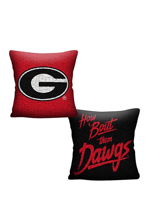 The Northwest Company NCAA Georgia Bulldogs Invert Pillow