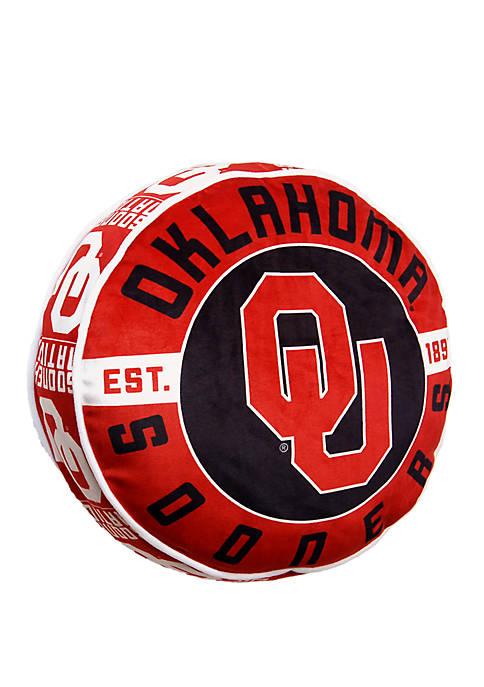 NCAA Oklahoma Sooners Cloud Pillow