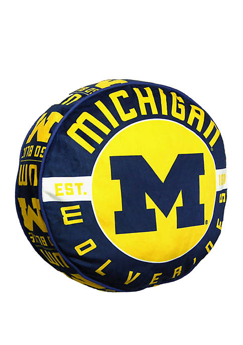 The Northwest Company NCAA Michigan Wolverines Cloud Pillow
