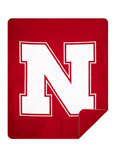 The Northwest Company NCAA Nebraska Cornhuskers Sliver Knit