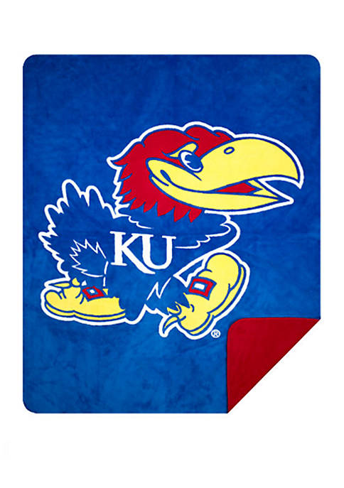 NCAA Kansas Jayhawks Sliver Knit Throw