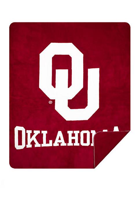 NCAA Oklahoma Sooners Sliver Knit Throw