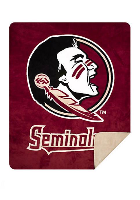 NCAA Florida State Seminoles Sliver Knit Throw