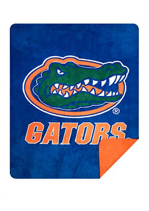 NCAA Florida Gators Sliver Knit Throw